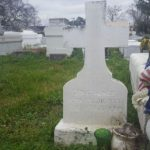 Paying respect to Guitar Slim buried in Thibodaux LA